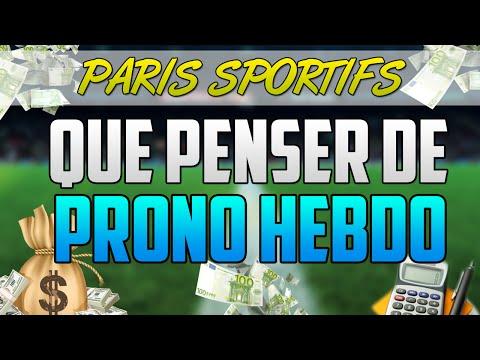 [PARIS SPORTIFS] Que PENSER de PRONO HEBDO ?