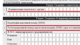 Бланк на получение патента иностранному гражданину