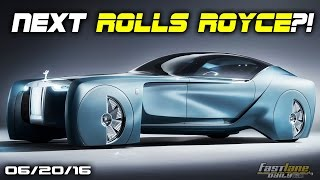 Rolls-Royce Concept, Deli Meats all over NJ Street, Mini Vision Next 100 - Fast Lane Daily