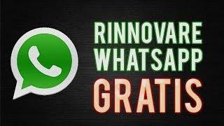 COME RINNOVARE GRATIS: WhatsApp NUOVO 2014 100%