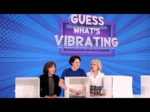 Phoebe Waller-Bridge, Jane Fonda, and Lily Tomlin Play 'Guess What's Vibrating'