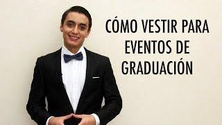 Cómo vestir en eventos de graduación - Hombres