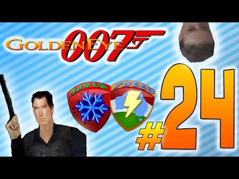 Goldeneye 64 - Very Fake Jordans - Part 24 - Powerup Platoon