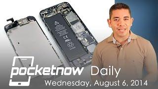 IPhone 6 Bigger Battery, Moto 360 Leaks, Galaxy Note 4
