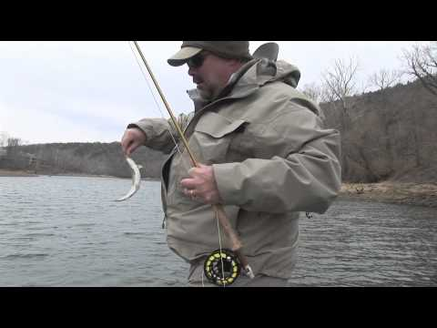 Lake taneycomo fly fishing for trout youtube for Lake taneycomo trout fishing
