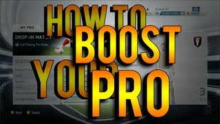 FIFA 14 How To Boost Your Pros Stats Fast & Easy