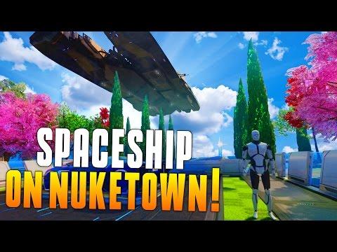 SPACESHIP ON NUKETOWN! (Infinite Warfare Easter Egg In BO3) Funny Moments, Teaser, New! - MatMicMar