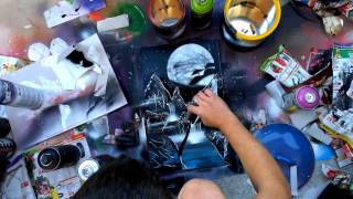 Space Painting Romania - making of