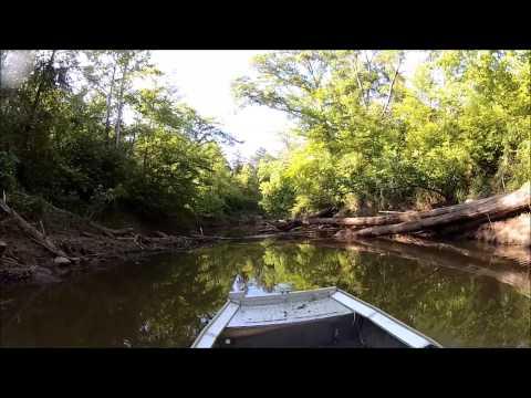 extreme jet boat creek run