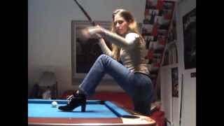 Couple's Awesome Pool Trick Shots