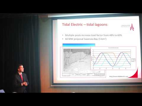 The Power Of Tides: Generating predictable energy (Dr Steve Quayle - Engineering)