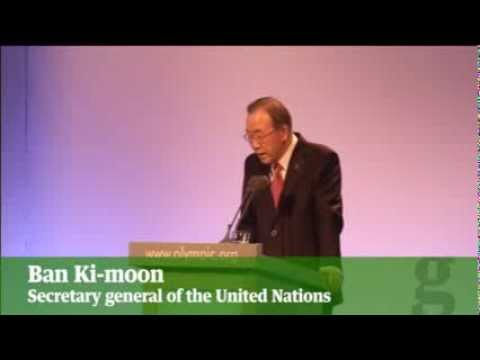 Ban Ki moon condemns persecution of gay people in Russia