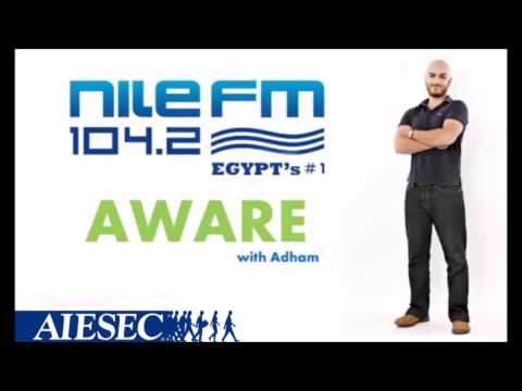 AIESEC in Egypt radio interview on NileFM