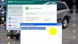 Como Actualizar El Antivirus Nod 32 Sin Renovar Licencia
