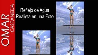Photoshop CS5. Efecto reflejo del agua