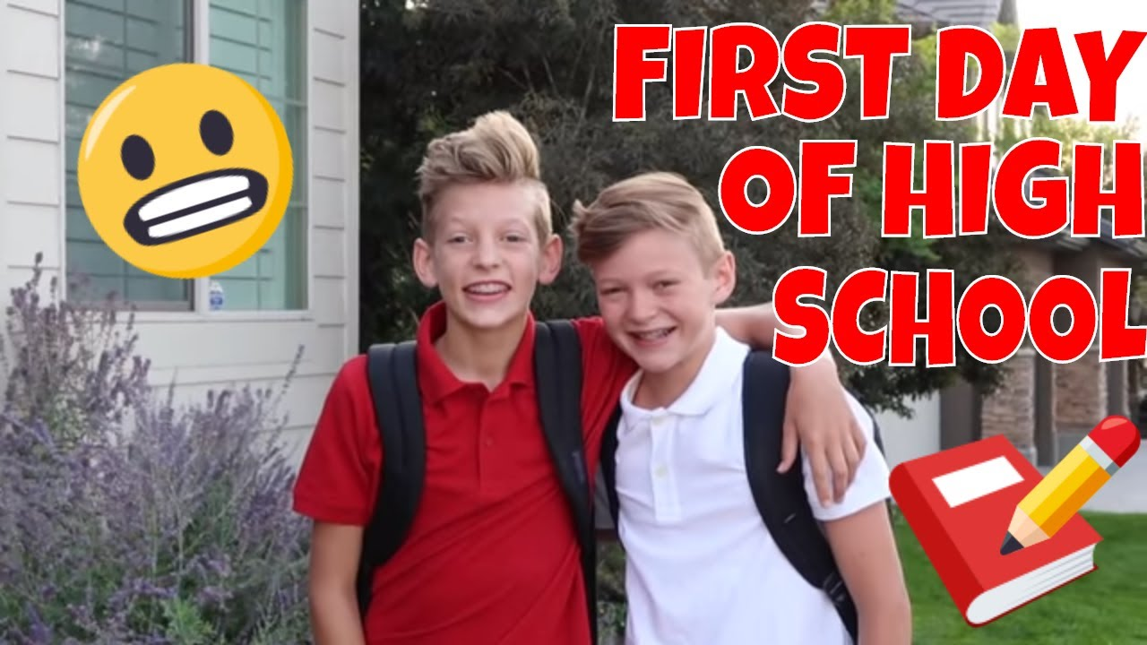 my first day at high school