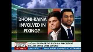 HLT - IPL Spot-fixing Scandal: Were Dhoni, Raina involved in fixing?