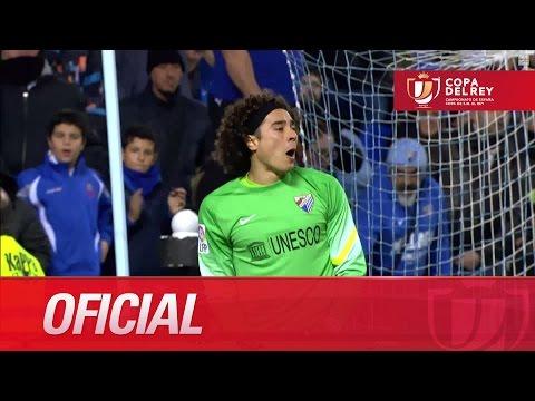 Todas las ocasiones del Málaga CF (0-0) Athletic Club