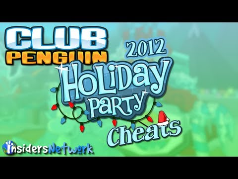 Club Penguin: Holiday Party 2012 Walkthrough,