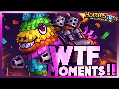 Hearthstone WTF Moments - Funny and Lucky Plays