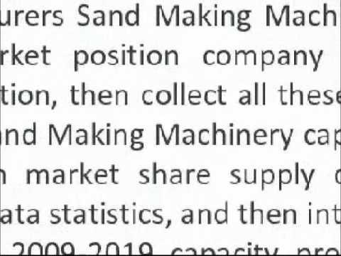 Making Machinery Industry