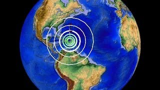 1/13/2014- Large Earthquake Strikes Near Puerto Rico