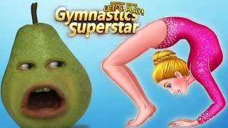 Pear Forced to Play GYMNASTICS SUPERSTAR!