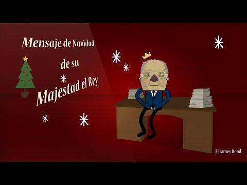Navidad 2013: Mensaje de su Majestad el REY 'Juancaddos' 'No volvedá a ocudir'