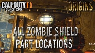 Black Ops 2 Zombies Origins How To Build Zombie Shield All