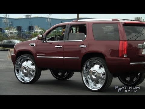INDIANA ESCALADE on 32's- CHI TOWN SERIES