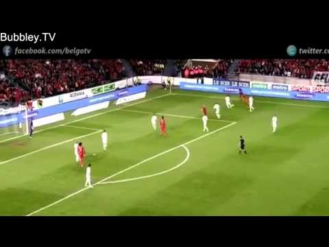 Adnan Januzaj Individual Highlights   International Debut   Belgium vs Luxembourg 5 1   HD   4