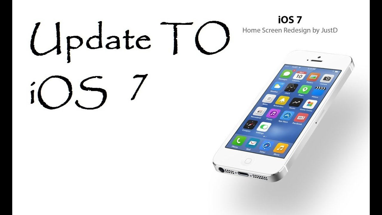 How to update iPhone, iPad or iPod touch to iOS 7