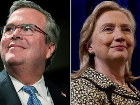 Hillary Clinton, Jeb Bush top prospective 2016 presidential candidates poll