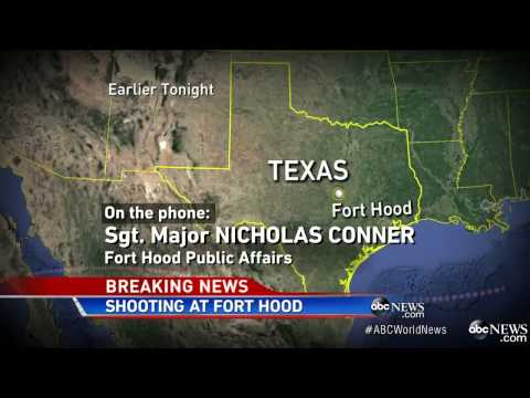Foot Hood Shooting - 4 Dead including Gunman