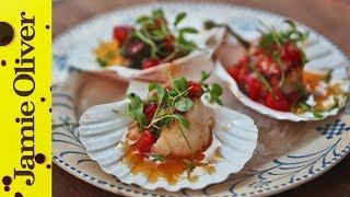 Pan Fried Scallops | Natalie Coleman
