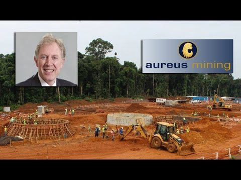 Aureus Mining chief says its full steam ahead after securing US$100mln project financing