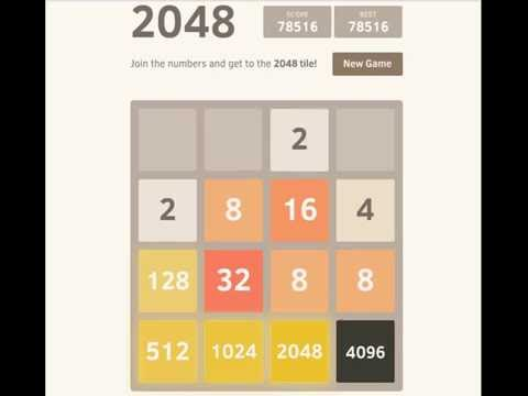2048 record: 151,796 points and the 8192 tile