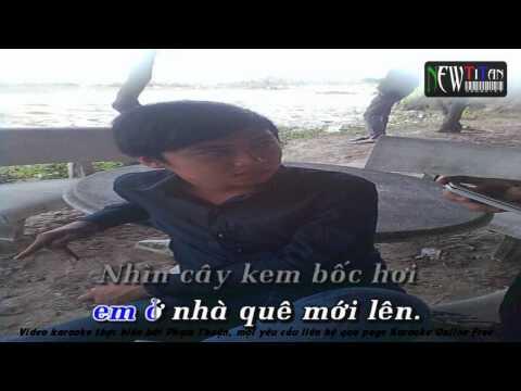 [Karaoke]O Nha Que Moi Len   Karaoke Free beat