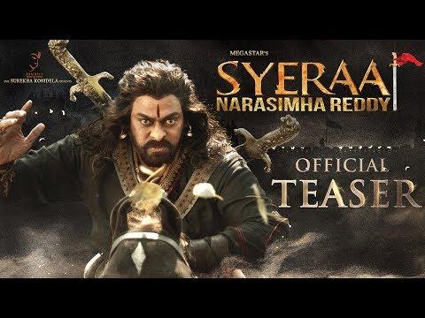 Sye Raa Narasimha Reddy Teaser