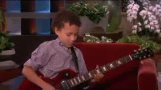Child Guitar Prodigy on Ellen Show