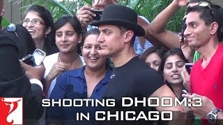 Behind The Scenes - Dhoom:3 - Shooting in Chicago