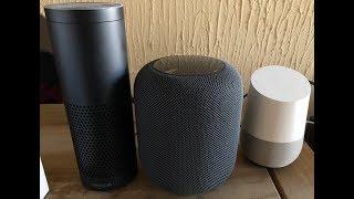 HomePod vs Alexa vs Google