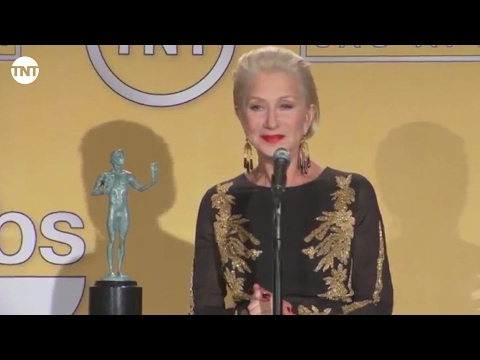 Helen Mirren | Press Room | SAG Awards
