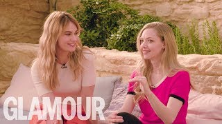 Amanda Seyfried and Lily James Put Their Musical Knowledge To The Test    GLAMOUR UK
