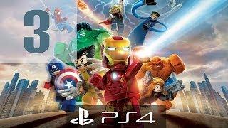 LEGO Marvel Super Heroes Gameplay Walkthrough Part 3