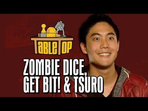 Zombie Dice, Get Bit! & Tsuro: Ryan Higa, Freddie Wong, Rod Roddenberry. TableTop Ep 3