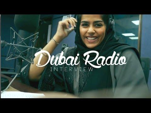 dubaiRADIO | مقابلتي في إذاعة دبي