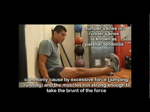 Knee Pain Exercises 7 - Jumpers Knee Exercises for Knee Pain