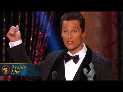 Matthew McConaughey Out of This World Speech Best Actor 2014 SAG Awards