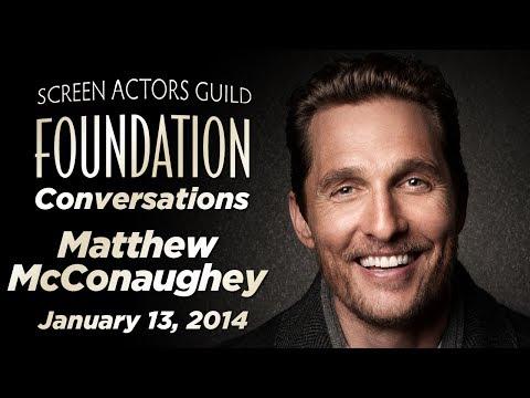 Conversations with Matthew McConaughey